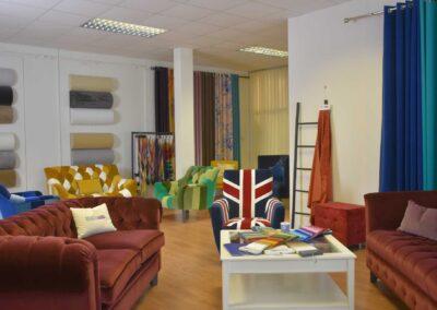 British Velvets Showroom